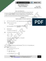 CBSE Board-XII Maths - 2016 _Eng.