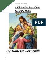 Final Portfolio Vanessa Persichilli Religion Part 1