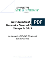 How Broadcast TV Networks Covered Climate Change in 2017