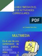 Uso de La Multimedia en El Diseño De