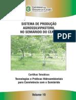 Sistema de Produção Agrossilvipastoril No Semiárido Do Ceará