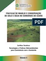 Práticas de Manejo e Conservação de Solo e Água No Semiárido Do Ceará