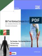 IBM Tivoli Workload Schedule for ZOS v1