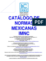 Catalogo de Normas Imnc