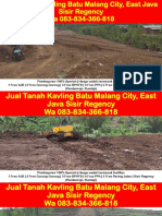 WA 083834366818,Jual Tanah Kavling Batu Malang City, East Java Sisir Regency