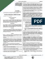 Acuerdo Ministerial 436-2008 Reformas al Reglamento de evaluación de los aprendizajes