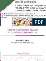 3-U1-1.1 Números Reales- Conjuntos