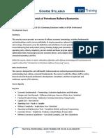 Fundamentals of Petroleum Refinery Economics