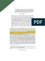 Analysis of El Burlador (1)