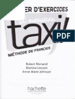 Le Nouveau Taxi 3 Cahier d'exercice