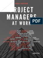 2018 Project Managers at Work [Bruce Harpham] Apress