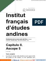 Prehistoria de La Costa Norte Del Perú - Capítulo II. Ascope 5 - Institut Français d'Études Andines