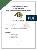Laboratorio-03 -  Procesos de Manufactura