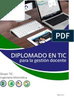 Propuesta Diplomado Tic Para La Gestion Docente