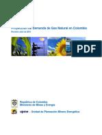 Analisis Demanda de Ga en Colombia