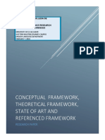 CONTENT, Theoretical, Referenced FRAMEWORK or State of Art