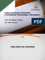 VA Monitoramento e Avaliacao Em Servico Social Aula 5 Tema 5