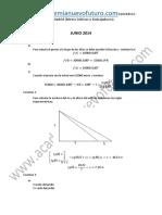 Examen Matematicas Grado Superior Madrid Junio 2014 Solucion