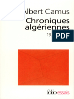 Chroniques Algériennes