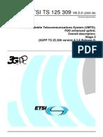 3GPPTS 25.309 FDD Enhanced Uplink-Overall Description-ts_125309v060300p