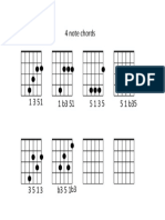4 Note Chords