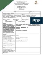 1° Plan de Clase F IV 2015-2016B
