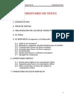 Acceso Universidad Para Mayores de 25 Comentario de Texto