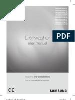 Samsung Dishwasher User Manual