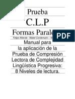 Manual_C.L.P Prueba de comprencion lectora.pdf