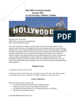 Fortmueller EMST 4050 Grady LA Industry Studies SU17 Syllabus