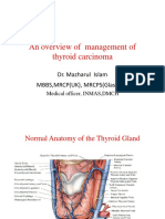 Overall Management of Thyroid Cancer