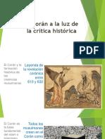 El Coran a La Luz de La Critica Historica