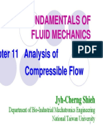 Analysis of  Compressible Flow in FUNDAMENTALS OF FLUID MECHANICS