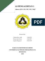 Tugas 11 Audit Evidence (ISA 330, 501, 505, 540)