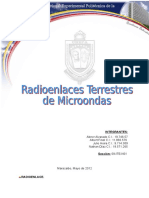 97711782 Radioenlaces Terrestres de Microondas