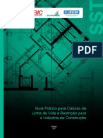 Guia Pratico Para Calculo de Linha de Vida e Restricao Para Industria Da Construcao