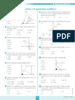 Ficha de Refuerzo Introducción a La Geometría Analítica 1