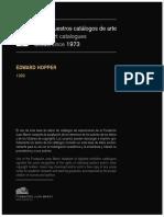 Hopper Edward Catalogo Fundacion Juan March