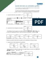 06 Estudio de La Funcion Derivada Con Calculadora Grafica 0