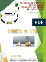 Análisis Comparativo Del Ciclo de Vida de Biodiesel