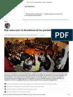 Hoy Como Ayer_ La Decadencia de Los Partidos - El Mostrador