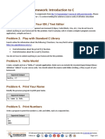 1. C Programming Intro Homework