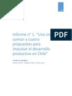 """Crítica a documento """"Una visión común y cuatro propuestas para impulsar el desarrollo productivo en Chile"""""""