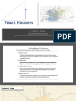 Texas Housers Lubbock neighborhood inequality presentation