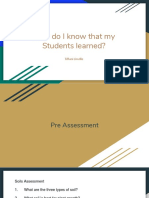 how do i know that my students learned-