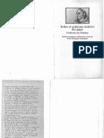 Sobre El Gobierno Tiranico Del Papa PDF