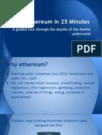 Ethereum in 40 Minutes