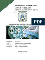 Microbiologia Historia