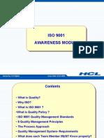 ISO Awareness Self Learn Module 230209