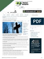 Calvinismo Versus Arminianismo - CACP - Ministério Apologético